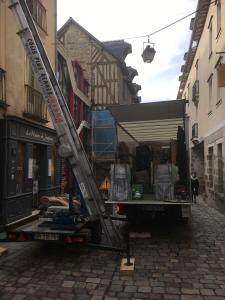 Déménagement monte meuble centre ville de rennes